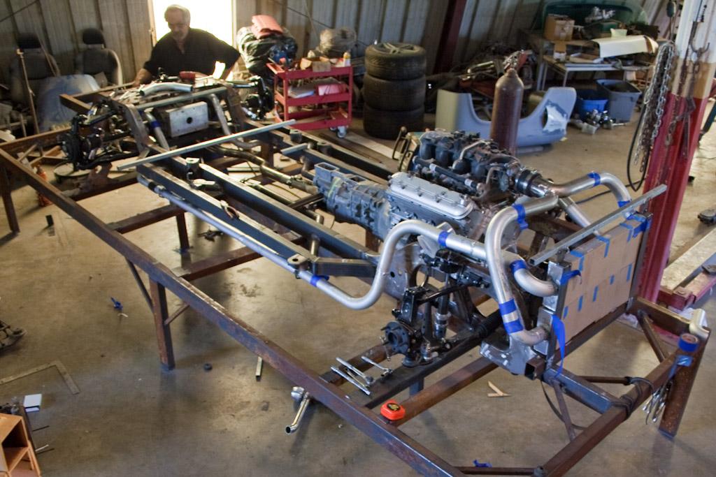 Ändrörs monterad turbo. L-2