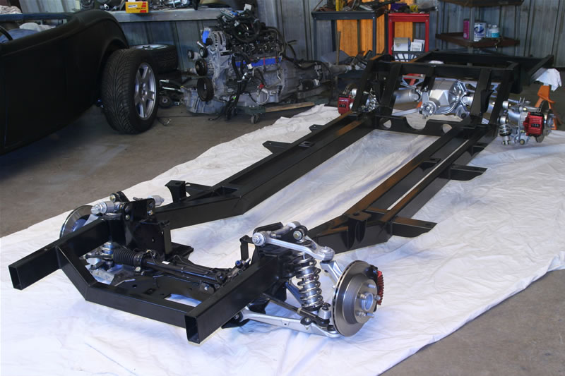 Rear Suspension furthermore Sale in addition Hooniverse Asks What Would You Do With This Rolling Corvette Chassis in addition 52 Chevy Rear End Swap besides 33086 Hot Rod Magazine Models. on jaguar rear end rod