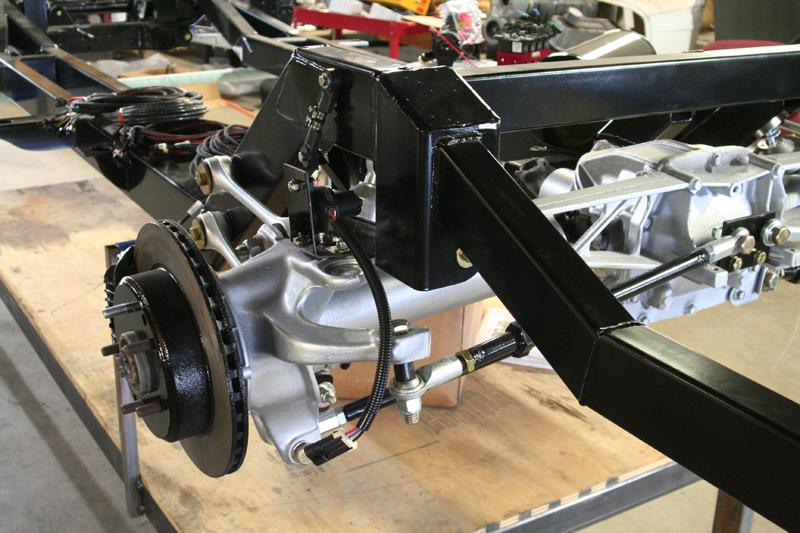 TriFive C4 Corvette Suspension Rolling Chassis fits 1955